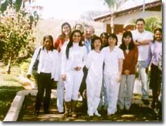 Groep artsen, dagelijks wisselend