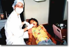 Bezoek aan de tandarts